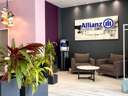 Umbau und Neugestaltung im Frühjahr 2020: die Allianz Versicherungsagentur Jens Schmidt  in Bremen-Kattenturm