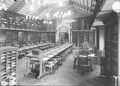 Biblioteca Nacional de Catalunya, Palau de la Generalitat 1914