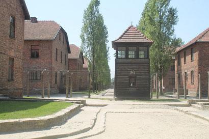 Wachturm und Administrations- und Wohngebäude