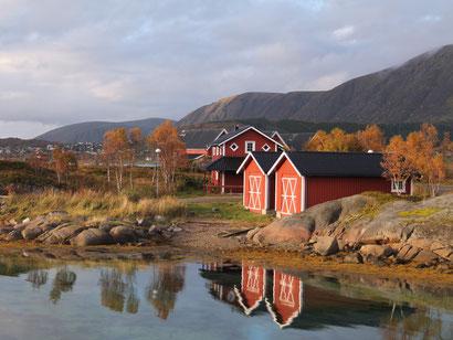 Stokmarknes auf den Vesterålen, September 2016