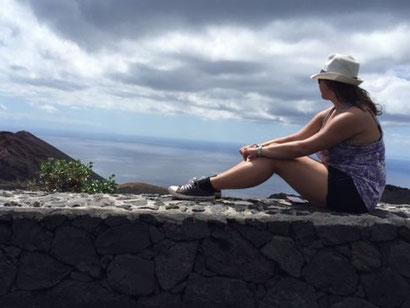Vulkan-Wanderung auf La Palma.