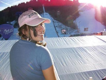 Beim Neujahrsspringen in Garmisch-Partenkirchen 2007.