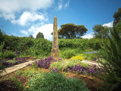 Das Grab von Denys Finch Hatton.     Foto: Kenya Photo/Stuart Price