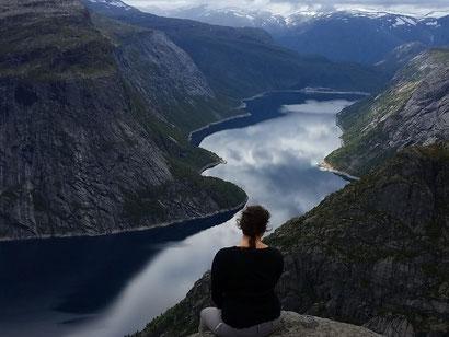 Auszeit am Fjord.
