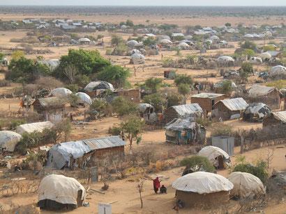 Camp Ifo 2 im Flüchtlingslager Dadaab in Kenia
