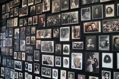 Familienfotos, die die Nazis eingesammelt hatten