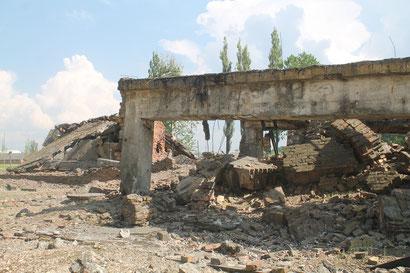 Überreste von Gaskammer 4