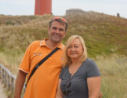 Martin en Ineke Visser Eigenaren Vakantiehuis De Lepelaar Texel De Krim