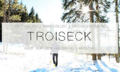 Wanderung im Mürtal, Fischbacher Alpen, Trioseck in Kindberg