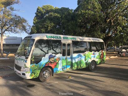 Uncle Brians bus Cairns