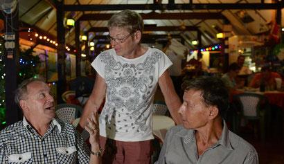 Heidi Lüdi-Burkhard aus Grenchen führt seit 20 Jahren «Heidi's Gardenrestaurant» in Hua Hin.