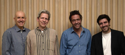 Günter Wehinger – Walter Jauslin Quartett 2018: Günter Wehinger, Walter Jauslin, Michael Chylewski, Christoph Mohle
