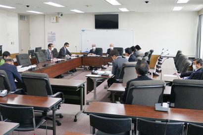 古賀市議会新型コロナ対策会議(4月3日開催)