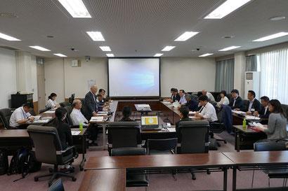 議会と看護大学のパートナーシップ協定に基づく交流会(2019年6月24日)
