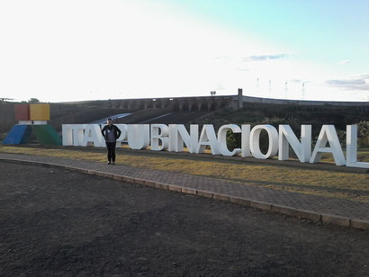 Represa Itaipú - Paraguay y Brasil