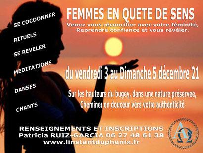 STAGE FEMININ SACRE Patricia RUIZ GARCIA