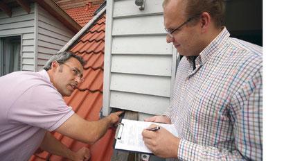 Immobilien Untersuchung - Immo-Check - von Keller bis Spitzboden