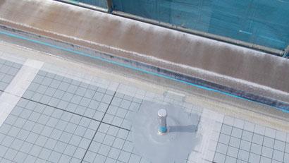 さいたま市の集合住宅、屋上防水工事、脱気筒設置後の写真