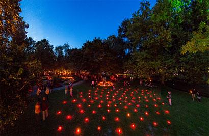 Nacht der 10.000 Kerzen in Bad Salzuflen    (c) Staatsbad Salzuflen
