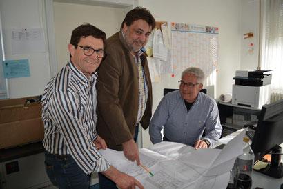 Sebastian Keim, Mathias Weisser, Rolf Schmid