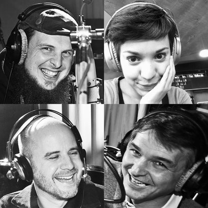 Sag mal du als Physiker podcast: Michael Büker, Magdalena Kersting, Jens Schröder, Johannes Kückens