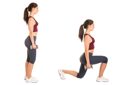 leg exercises lunges