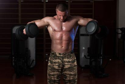shoulder workout dumbbell fly