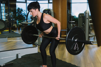 back exercises barbell row