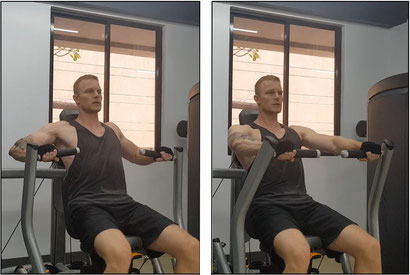 chest exercise machine chest press