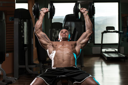 chest exercises incline dumbbell press