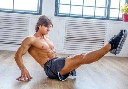 ab workout leg raises
