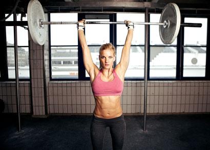 shoulder workout training schedule barbell press