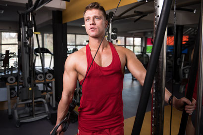 triceps exercise 1 hand cable extension