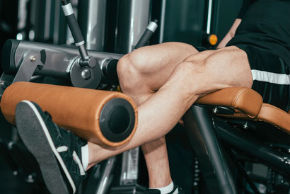 leg exercises leg extension