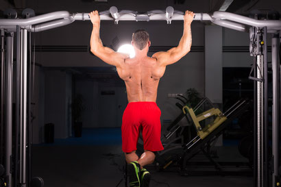 back exercises wide pull up