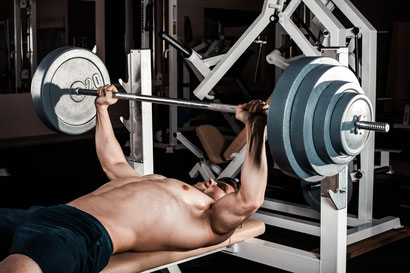 chest exercise bench press