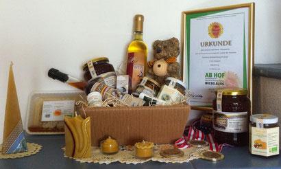 Wertvolle Produkte quer durch die Bio-Landwirtschaftspalette