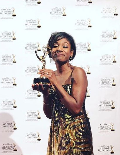 Markette Sheppard Emmy Award