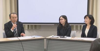 山岡憲史先生と松川慈先生、吉嶋幸子先生