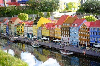 Das Legoland in Billund - beeindruckende Bauten aus Lego