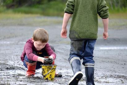 Kinderträume: ein riesigen Marschplatz zum toben