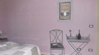 Particolare camera Rosa