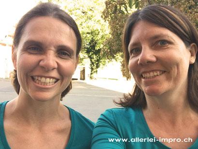 Das Duo Allerlei Impro Improvisationstheater mit Herz