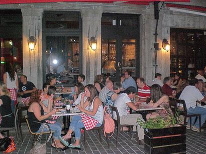 Montreal Reisebericht Dinner im Studentenviertel