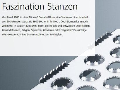 """Textprobe """"Faszination Stanzen"""", Quelle: TRUMPF TruPunch Broschüre"""