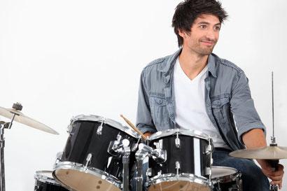 Schlagzeug,  Musikstudio 89, Volker Schäfer