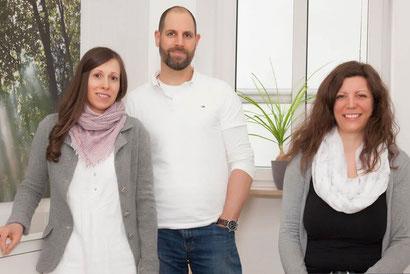 """Daniela und Matthias Cebula und ihre Assistentin in der Praxis """"Ich lebe, was ich lehre"""""""