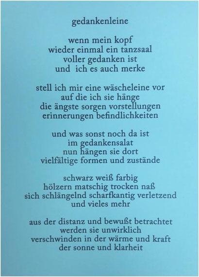 """Aus: Ute Licht  """"Momentaufnahmen - Texte und Bilder"""""""