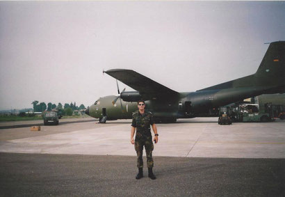 Matthias als Pilot auf Sardinien