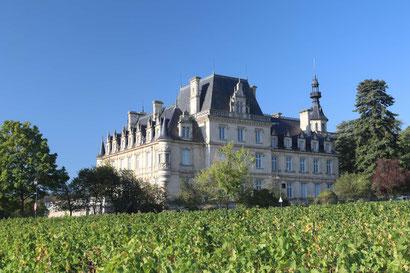 Chateau in der Nähe von Beaune